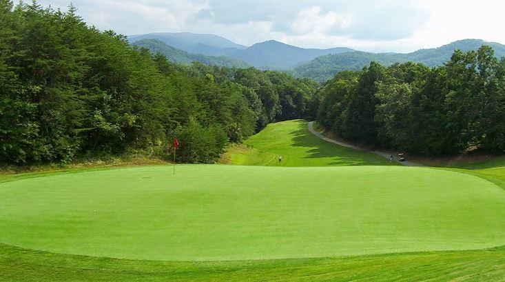 Gatlinburg Golf Course View of Mountains
