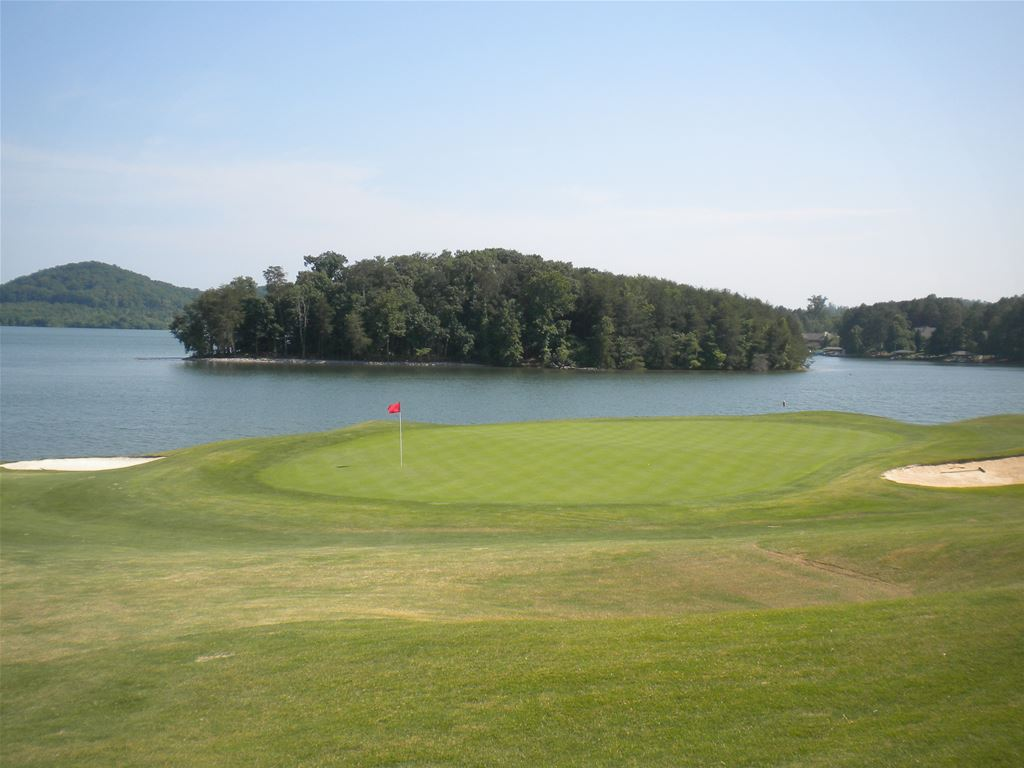 Toqua Golf Course in Loudon, Tennessee