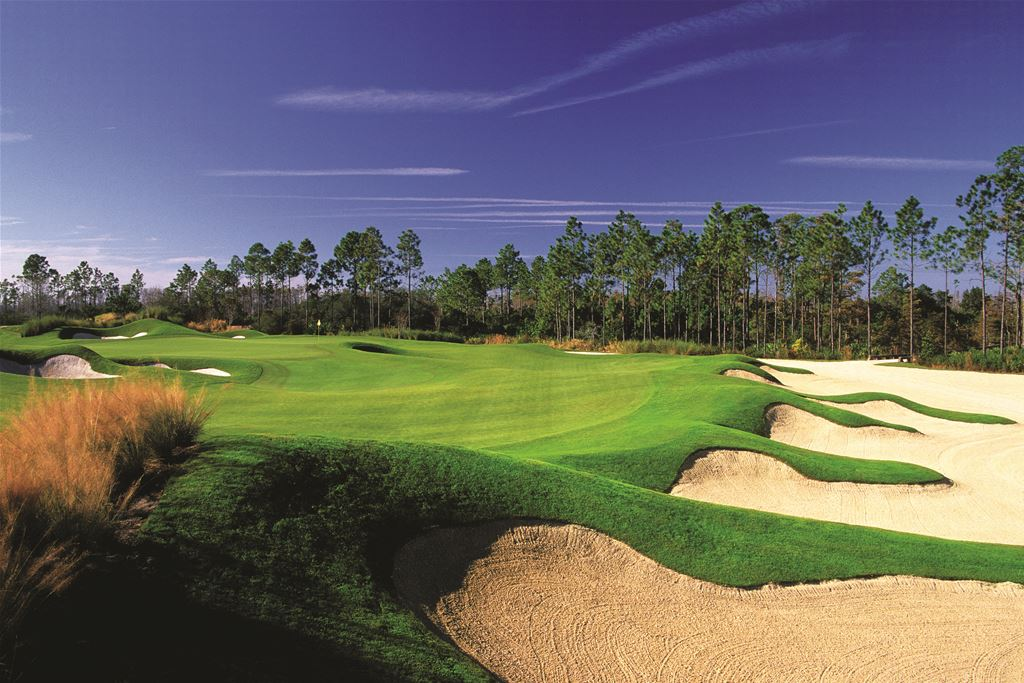 Hammock Beach Conservatory Course in Palm Coast, Florida