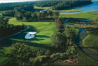 Riverfront Golf Course in Suffolk, Virginia