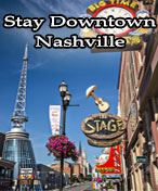 Nashville Music City Downtown Golf Package