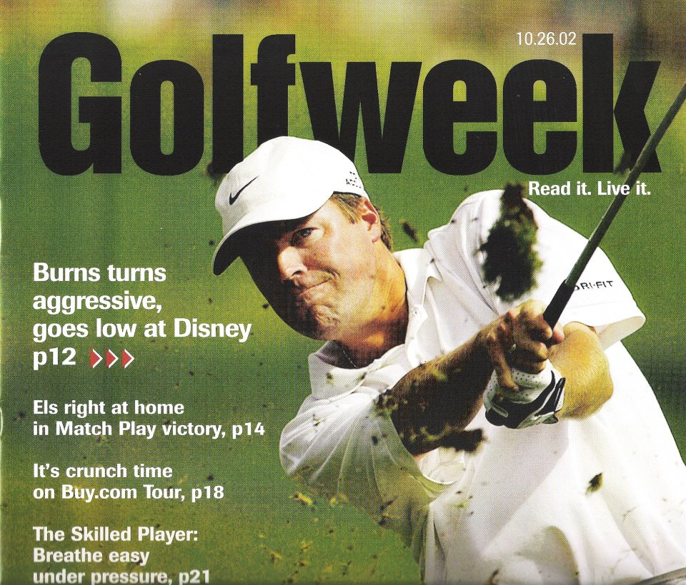 Bob Burns Golf Magazine Ad